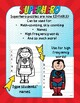 SUPERHEROES NUMBER PUZZLES
