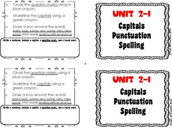 SuperKids grade 2 Spelling UNITS 1-16: Writing Basics