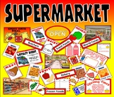 SUPERMARKET ROLE PLAY TEACHING RESOURCES KS1-2 FOOD SCIENCE EYFS MONEY HEALTH