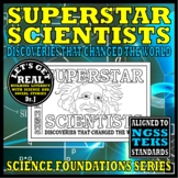 SUPERSTAR SCIENTISTS: Discoveries that Changed the World (Science Foundations)