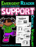 Academic Vocabulary SUPPORT fiction nonfiction