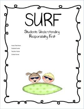 SURF Binder Cover Freebie