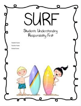 SURF Binder Cover Set #1