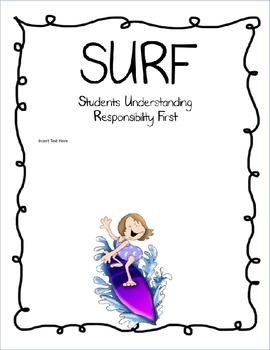 SURF Binder Cover Set #3