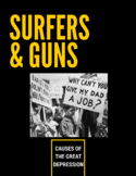 SURFERS & GUNS Great Depression Concept Web [Honors & Stan
