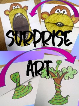 SURPRISE ART - ANIMALS