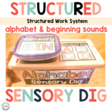 Alphabet Task Boxes for Preschool and Special Education