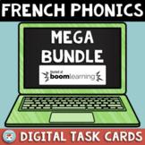 French Phonics Digital MEGA Bundle   French BOOM Cards   Conscience phonologique
