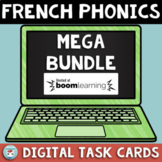 French Phonics MEGA Bundle | French BOOM Cards French Distance Learning