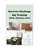 SURVIVOR Challenge SPY Training STEM STEAM for GATE 4th to 8th Grades