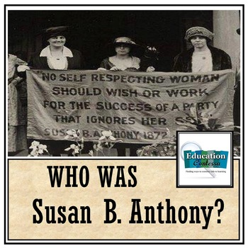 SUSAN B. ANTHONY: Famous American Mini Unit