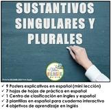 SUSTANTIVOS SINGULARES Y SUSTANTIVOS PLURALES EN ESPAÑOL