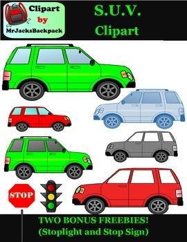 SUV clipart big car clipart