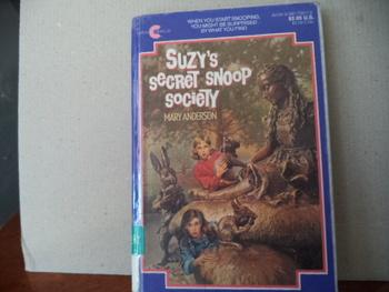 Suzy's Secret Snoop Society ISBN 0-380-75917-0