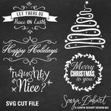 SVG Cuts and Christmas Clip Art Classroom Decor Silhouette Cricut Cut Files