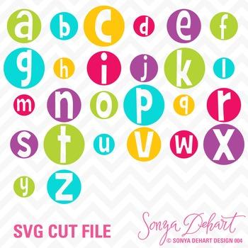 SVG Cuts and Clip Art Alphabet Classroom Decor Silhouette