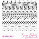 SVG Cuts and Clip Art Borders Classroom Decor Silhouette Cricut Cut Files