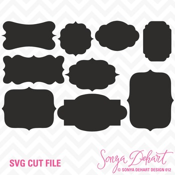 SVG Cuts and Clip Art Labels Classroom Decor Silhouette Cricut Cut Files