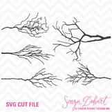 SVG Cuts and Clip Art Tree Branches Classroom Decor Silhouette Cricut Cut Files