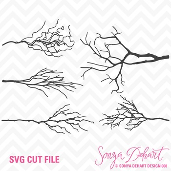 SVG Cuts and Clip Art Tree Branches Classroom Decor Silhou