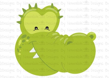 SVG, DXF, Pdf, Studio3 Cut file CF8 Animal Faces Alligator