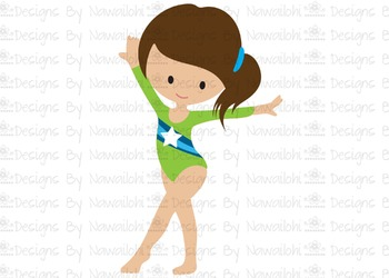 SVG, DXF, Pdf, Studio3 Cut file CF35 Gymnast