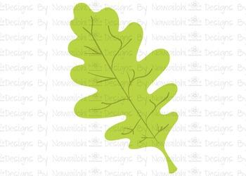 SVG, DXF, Pdf, Studio3 Cut file CF39 Fall Harvest Leaf 2