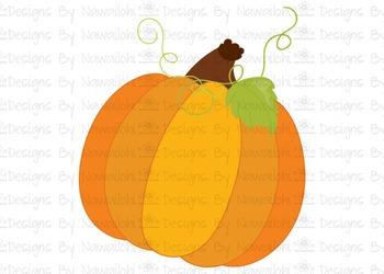 SVG, DXF, Pdf, Studio3 Cut file CF43 Fall Harvest Pumpkin