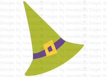 SVG, DXF,Pdf, Studio3 Cut file CF47 Halloween Hat