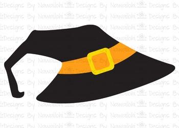 SVG, DXF, Pdf, Studio3 Cut file CF50Halloween Hat