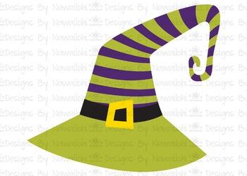 SVG, DXF, Pdf, Studio3 Cut file CF51 Halloween Hat