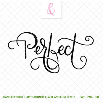 SVG DXF PNG - Cut File - Perfect - Personal Use Only