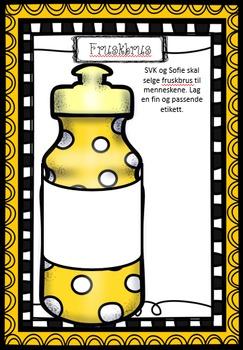 SVK - Store Vennlige Kjempe - lag din egen etikett og reklameplakat, Roald Dahl