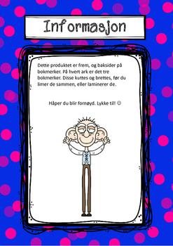 SVK - Store vennlige kjempe-bokmerker i farger, Roald Dahl