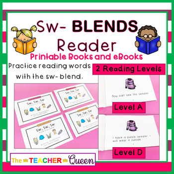 SW- Blend Readers Levels A and D (Printable and Projectable Books)