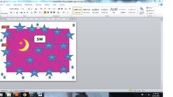 'SW' Blend 'Starry Night' Boardgame for Speech
