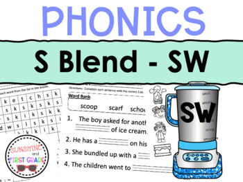 SW Blend Worksheet Packet