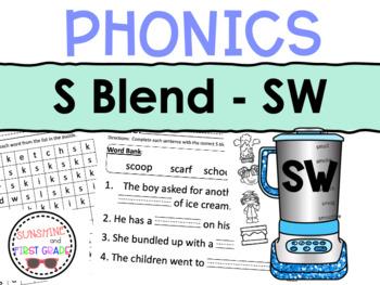 SW Blend Worksheet Packet