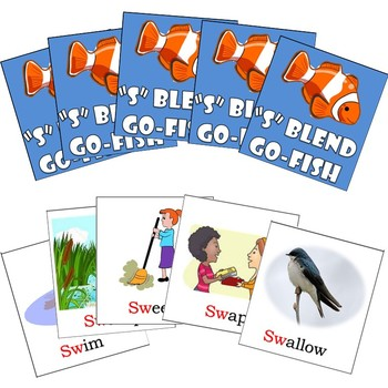 SW Blends Go-Fish Cards