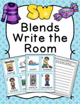 SW Blends Write the Room Activity