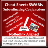 Cheat Sheet: SWABIs (subordinating conjunctions) | NoRedIn