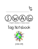 SWAG / BRAG Tag notebook cover