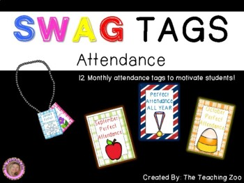 SWAG! Brag Tags for Attendance