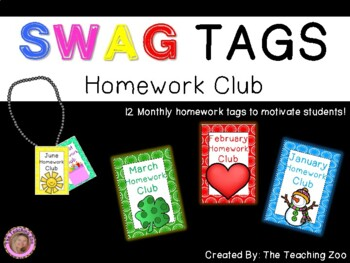 SWAG! Brag Tags for Homework