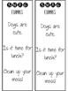 SWAG Sentence Checklist