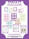SWAG ~ Sight Word Action Game ~ Star Set