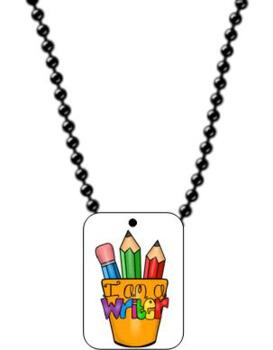 SWAG TAGS [Brag Tags] Subjects in School Pack