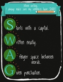 SWAG Writing Poster