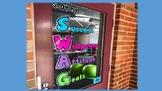SWAG classroom display