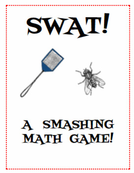 SWAT!  A Math Review Game